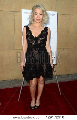 LOS ANGELES - MAR 22:  Katherine Castro at the I Saw the Light LA Premiere at the Egyptian Theatre on March 22, 2016 in Los Angeles, CA