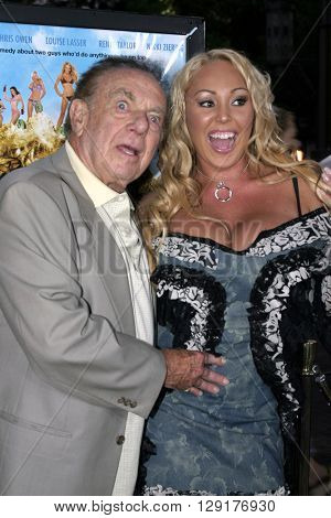 Jack Carter and Mary Carey at the Los Angeles premiere of