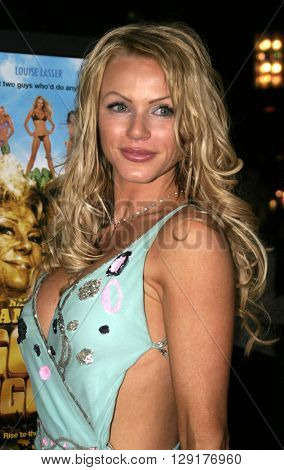 Nikki Ziering at the Los Angeles premiere of