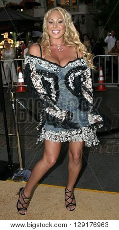 "Mary Carey at the Los Angeles premiere of ""National Lampoon's Gold Diggers"" held at the Grove Stadium in Hollywood, USA on September 13, 2004."