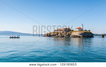 Saint Anastasia Island In Burgas Bay, Black Sea
