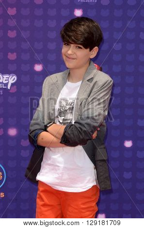 LOS ANGELES - APR 29:  Joshua Rush at the 2016 Radio Disney Music Awards at the Microsoft Theater on April 29, 2016 in Los Angeles, CA