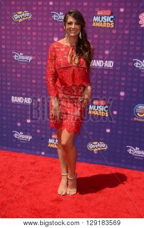 LOS ANGELES - APR 29:  Cerina Vincent at the 2016 Radio Disney Music Awards at the Microsoft Theater on April 29, 2016 in Los Angeles, CA