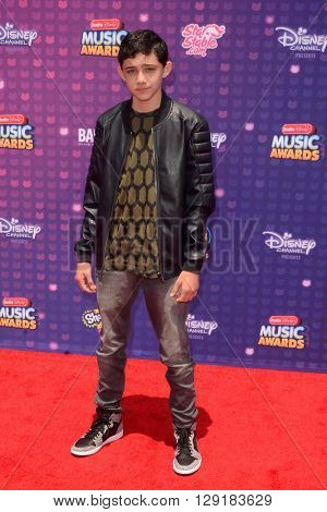 LOS ANGELES - APR 29:  Felix Avitia at the 2016 Radio Disney Music Awards at the Microsoft Theater on April 29, 2016 in Los Angeles, CA