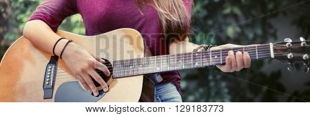 Music Instrument Calm Joy Relaxing Cheerful Concept
