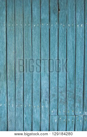 wooden planks, wooden background, blue fence of wood