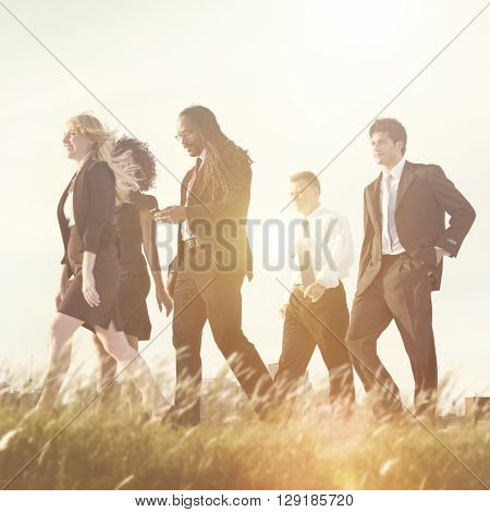 Occupation Corporate Business Commuter Professional Concept