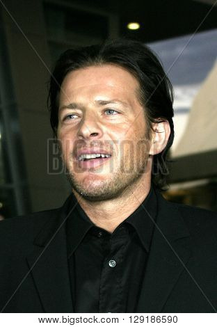 Costas Mandylor at the Los Angeles premiere of 'Vlad' at the Arclight Cinemas in Hollywood, USA on September 8, 2004.
