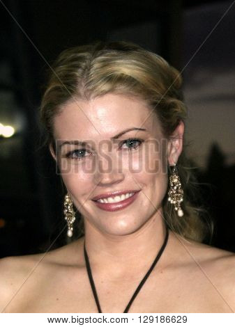 Kam Heskin at the Los Angeles premiere of 'Vlad' at the Arclight Cinemas in Hollywood, USA on September 8, 2004.