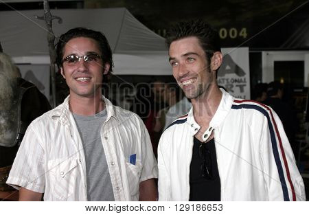 Thomas Ian Nicholas at the Los Angeles premiere of 'Vlad' at the Arclight Cinemas in Hollywood, USA on September 8, 2004.