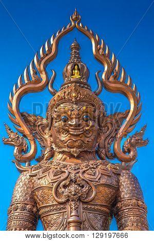 Yak ThaiThai giant found every where at temple