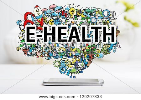 E-health Concept With Smartphone