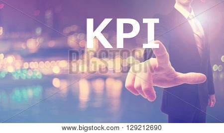 Kpi Concept With Businessman
