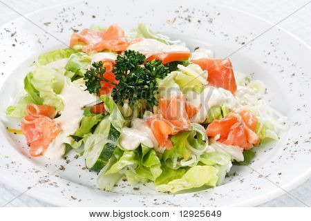 salad wish fish