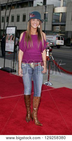 Lauren C. Mayhew at the Los Angeles premiere of