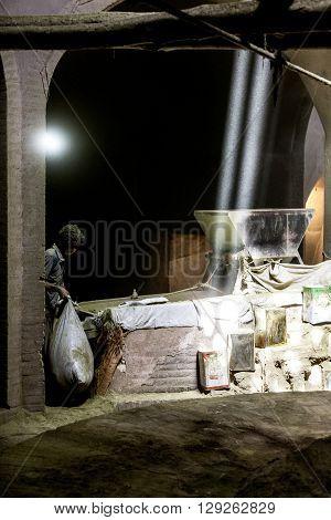 Mill Worker, Iran