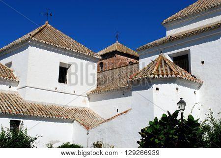 View of the Immaculate Conception church (Iglesia de la Inmaculada Concepcion) Mijas Malaga Province Andalucia Spain Western Europe.