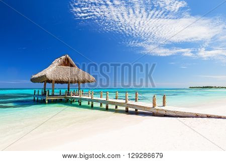 Beautiful Tropical White Sandy Beach
