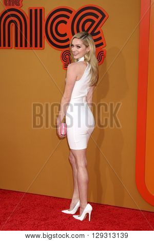LOS ANGELES - MAY 10:  Greer Grammer at the The Nice Guys Premiere at the TCL Chinese Theater IMAX on May 10, 2016 in Los Angeles, CA