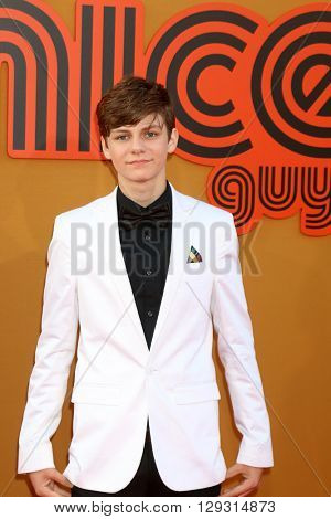 LOS ANGELES - MAY 10:  Ty Simpkins at the The Nice Guys Premiere at the TCL Chinese Theater IMAX on May 10, 2016 in Los Angeles, CA