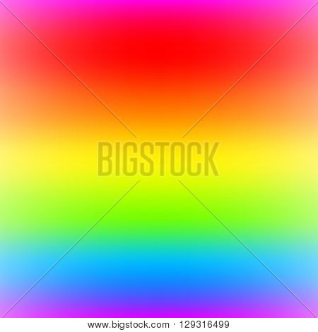 Rainbow spectrum soft texture background. Iridescent rainbow range foggy backdrop with smooth transition of colors.