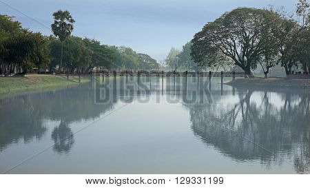 Mirror In A Pond