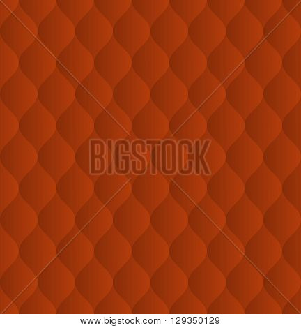 red pattern seamless or decorative background - vector illustration