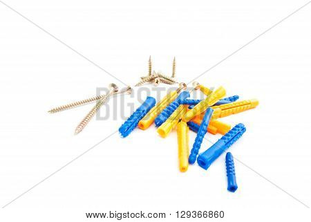 Colored Dowels And Screws