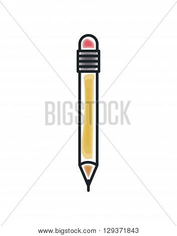 pencil icon design, vector illustration eps10 graphic