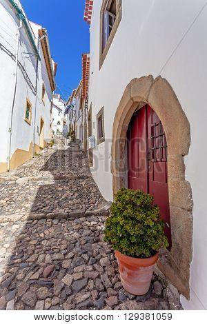 Medieval Jewish Quarter / Ghetto (Judiaria) in Castelo de Vide,  Alto Alentejo, Portugal.