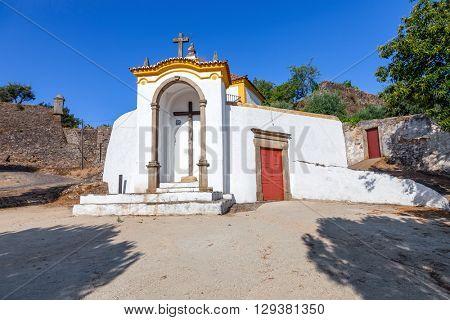 Calvary Church (Igreja do C�¡lvario) in Castelo de Vide,  Portalegre, Alto Alentejo, Portugal.