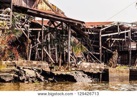 Dilapidated Slums