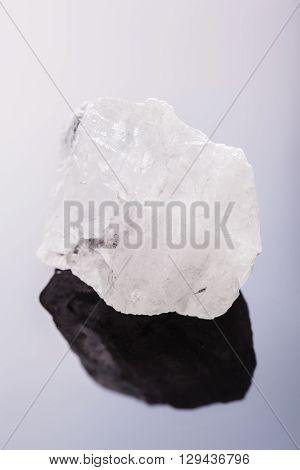 Rock Crystal Macro Vertical