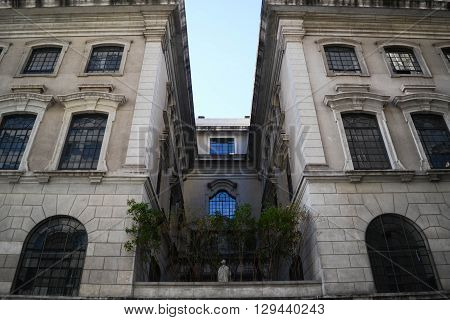 Old style Architecture Building at Sao Paulo