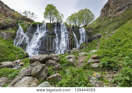 Shaki Waterfall, Armenia