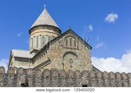 Transfiguration Church. Samtavro Monastery. Mtskheta in Georgia