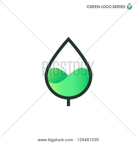 Leaf logo. Green energy logo. Bio energy. Eco green logo. Fresh food logo. Natural logo. Natural food logo. Green energy design template. Leaf line logo. Green energy line logo. Bio energy line logo