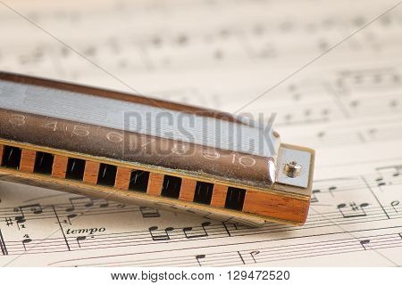 Blues Harmonica Mouth