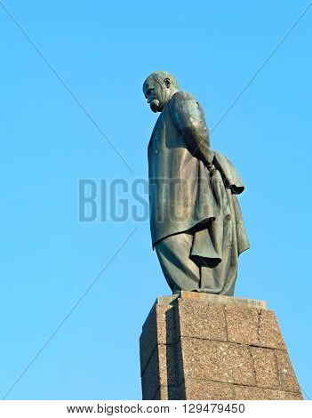 Monument Of Taras Shevchenko In Kaniv