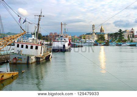 Batumi Harbor, Georgia