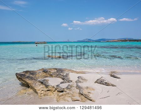 The Waters Of Ses Illetes Beach
