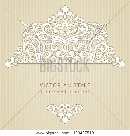 Vintage Ornate Pattern.