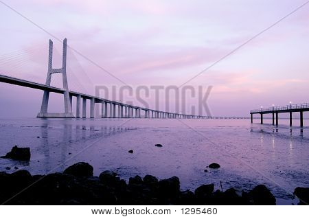 Vasco Da Gama Bridge, Biggest Bridge Of Europe