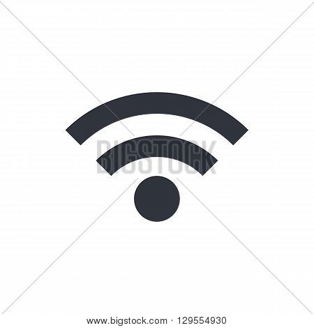 Wifi Icon In Vector Format. Premium Quality Wifi Symbol. Web Graphic Wifi Sign On White Background.