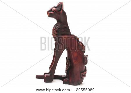 The Egyptian cat. The Egyptian cat - blissfully Egyptians revered animal. Having a cat in ancient Egypt was considered a privilege of only the richest people. In addition the Egyptian cat is the guardian of the hearth