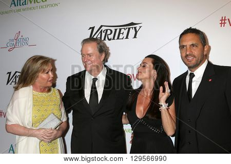 LOS ANGELES - MAY 12:  Rick Hilton, Kathy Hilton, Kyle Richards, Mauricio Umansky at the Power Up Gala at the Beverly Wilshire Hotel on May 12, 2016 in Beverly Hills, CA