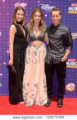 LOS ANGELES - APR 29:  Temecula Road at the 2016 Radio Disney Music Awards at the Microsoft Theater on April 29, 2016 in Los Angeles, CA