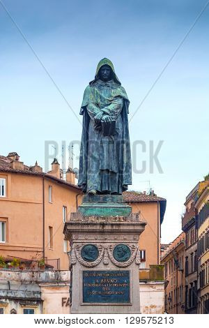 Giordano Bruno was an Italian Dominican friar, philosopher, mathematician, poet, and astrologer.He is celebrated for his cosmological theories, which went even further than the then novel Copernican model