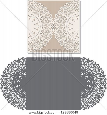 Laser Cut Envelope Vector Photo Free Trial Bigstock