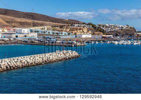 Port In Morro Jable - Fuerteventura Canary Islands Spain